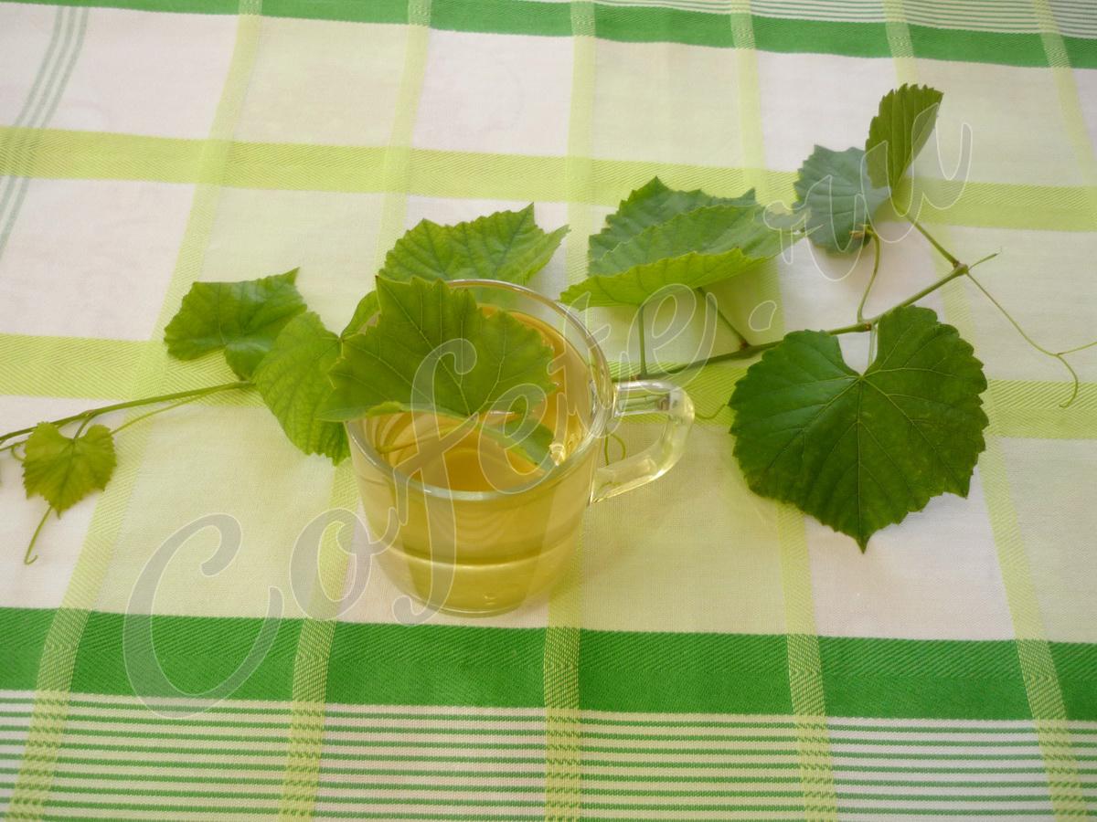 Завариваем листья винограда