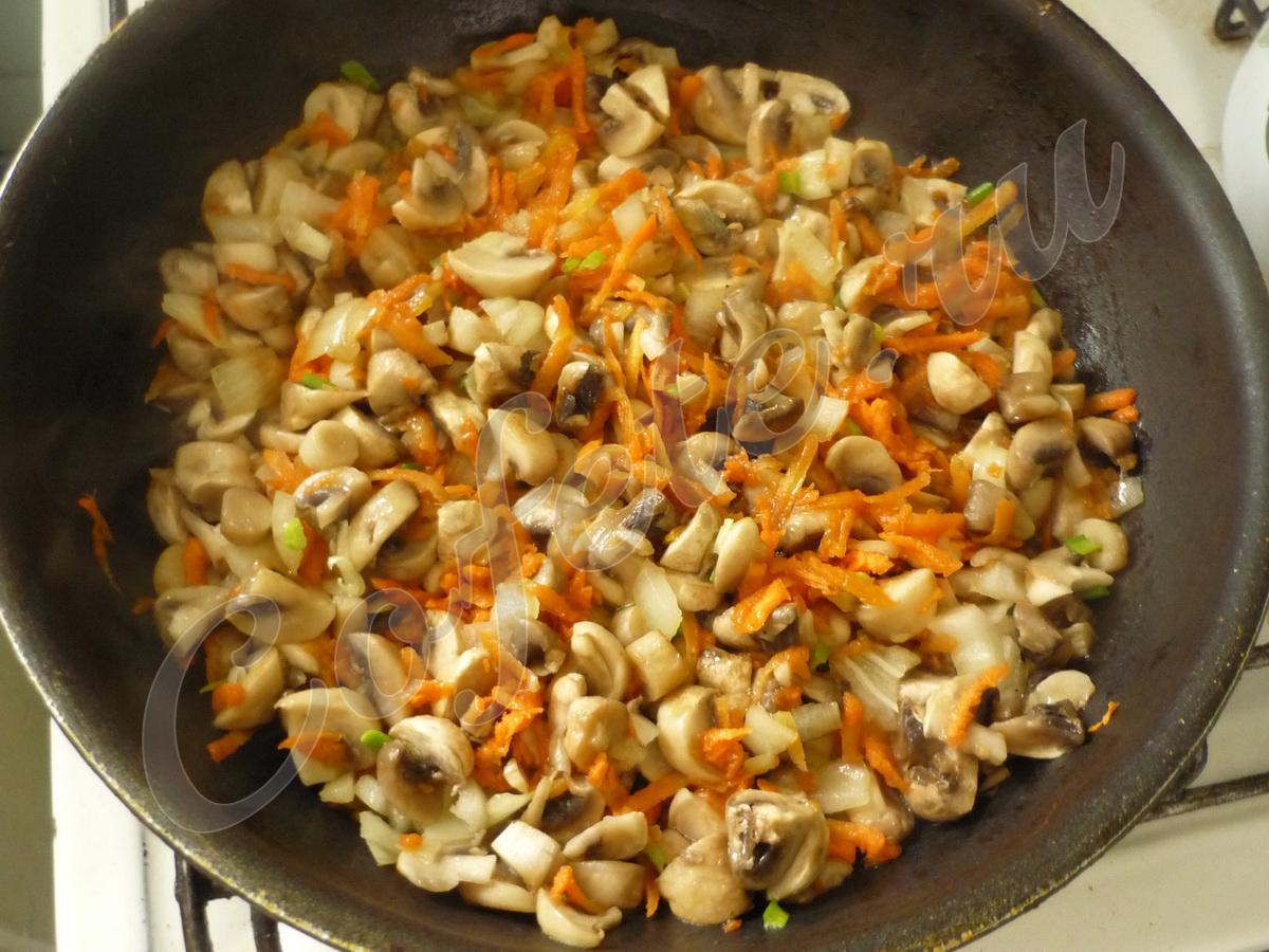 Зажарка грибного супа